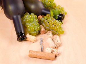 Weinflasche mit Korken